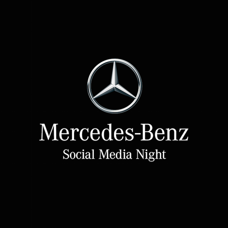 Bildergebnis für mercedes benz social media night logo