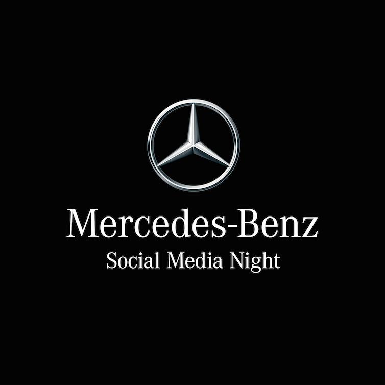 Neue Termine der Mercedes-Benz Social Media Nights 2018