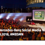 80. Mercedes-Benz Social Media Night OPEN AIR am 20.8.2018